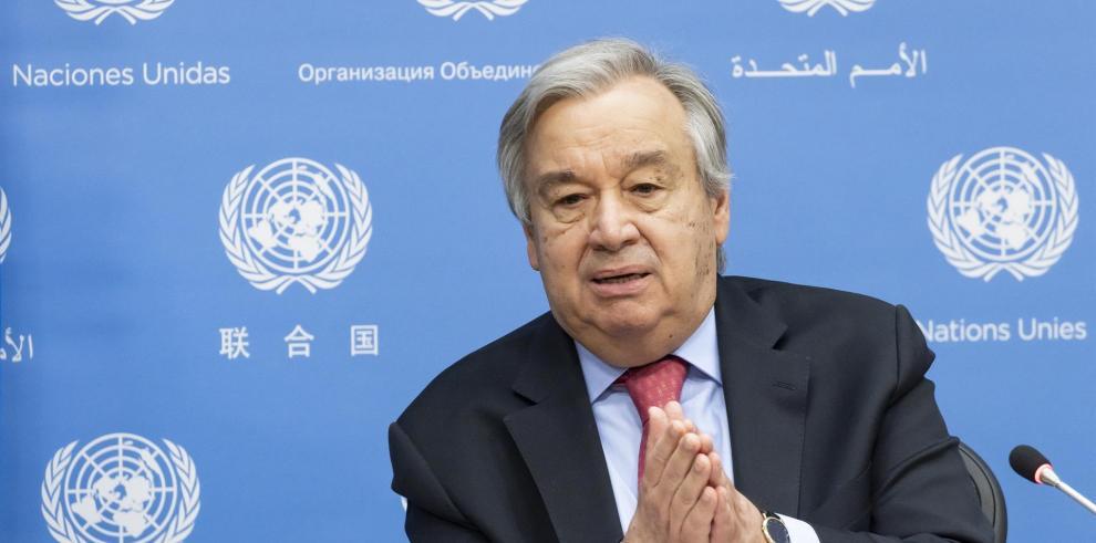 El Consejo de Seguridad respalda que Guterres continúe al frente de la ONU.