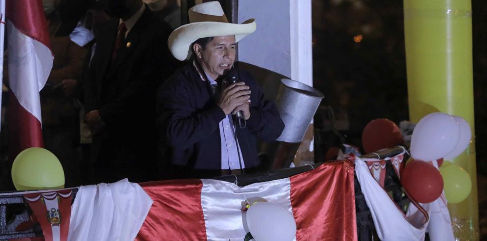 El último reporte de la ONPE señaló este miércoles que Castillo ha recibido el 50,20 % del sufragio