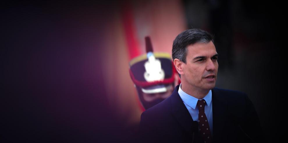 El jefe de Gobierno español, Pedro Sánchez