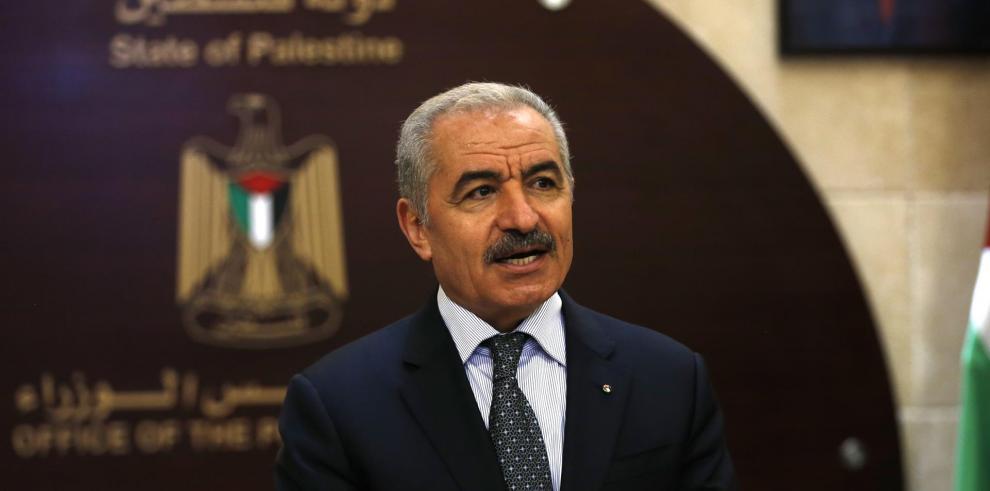 El primer ministro palestino, Mohamed Shtayeh