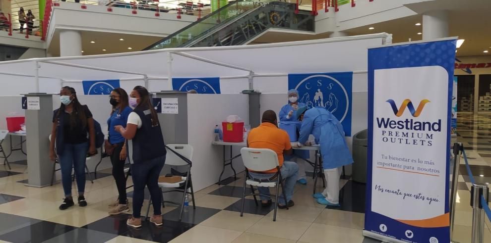 Westland Mall vacuna