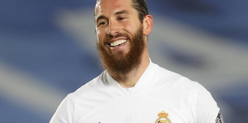 El defensa del Real Madrid Sergio Ramos.