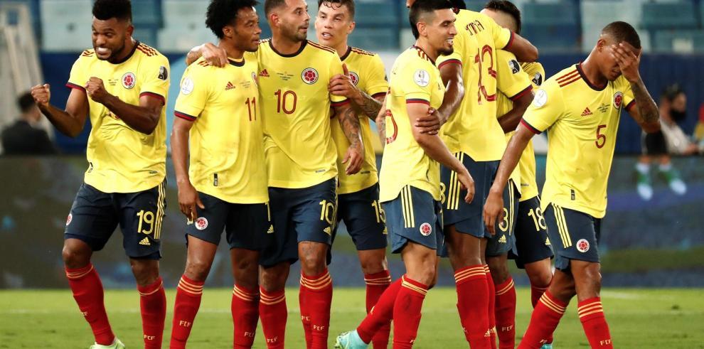 La principal novedad que tendrá Colombia será la ausencia del lateral izquierdo Yairo Moreno