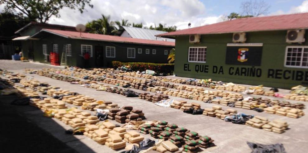 2,341 paquetes de droga incautados en Panamá
