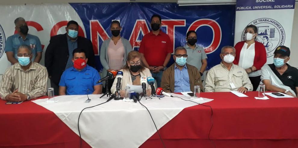 Trabajadores organizados en Panamá analizarán el sábado si regresan a la mesa del diálogo de la CSS