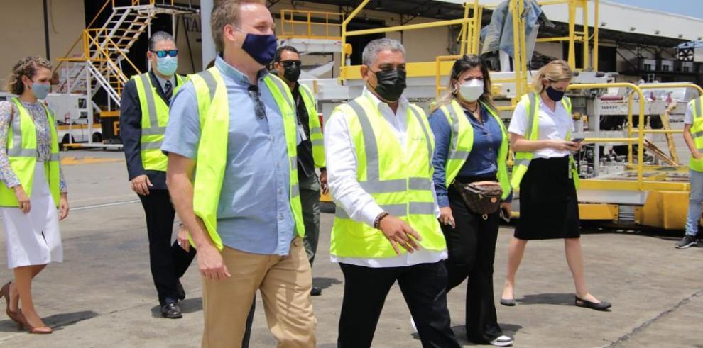 Estados Unidos dona a Panamá 503,100 dosis de la dosis de Pfizer