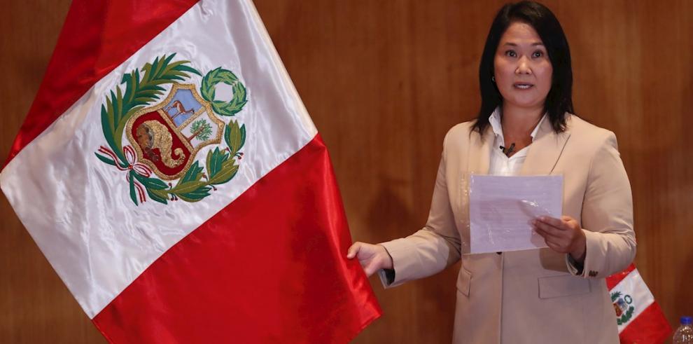 Keiko Fujimori, excandidata presidencial peruana