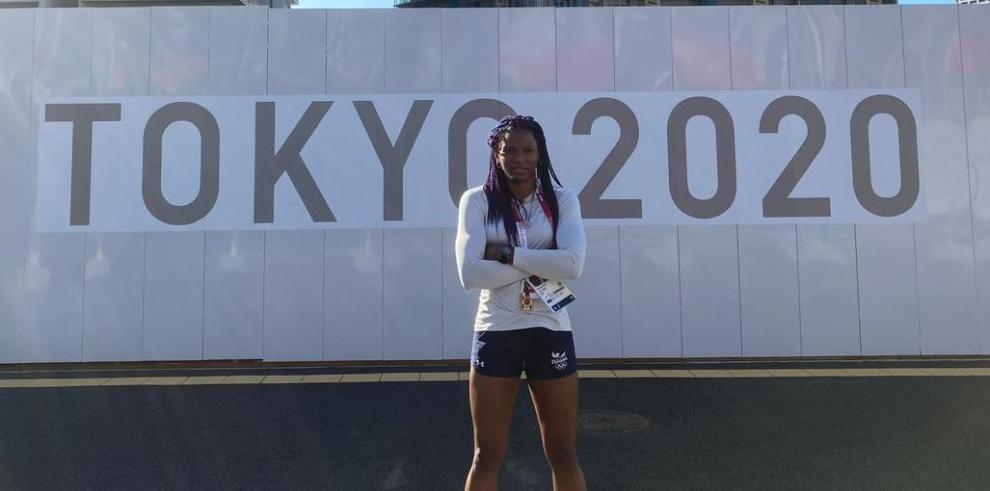 Atheyna Bylon, abanderada de Panamá en los Juegos Olímpicos Tokio 2021