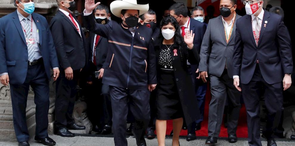 Pedro Castillo, presidente entrante del Perú
