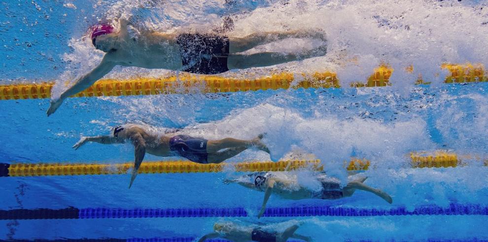 Caeleb Dressel, el nadador estadounidense que no da tregua en Tokio 2020.