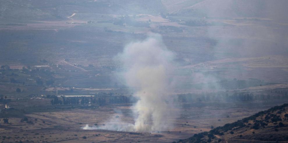 Cohetes lanzados desde el Líbano