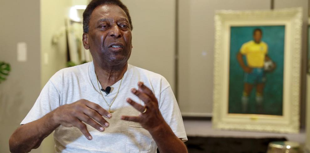 Diez mil dólares para hablar con Pelé durante 30 minutos por una buena causa