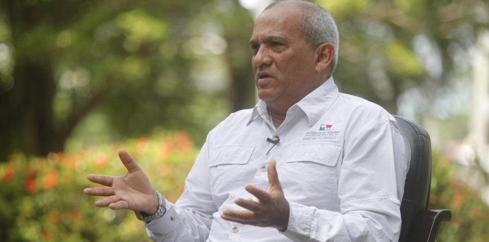El ministro de Ambiente de Panamá, Milciades Concepción