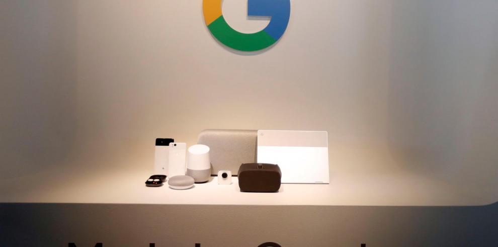Línea de dispositivos de hardware, incluyendo el teléfono Pixel 2 y Pixel 2 XL
