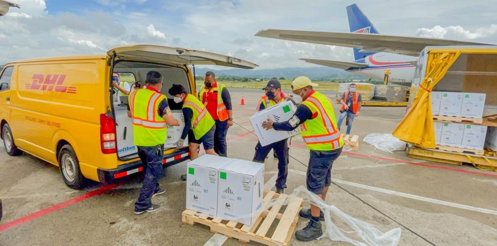 Llegada de vacunas a Panamá Pfizer agosto 2021