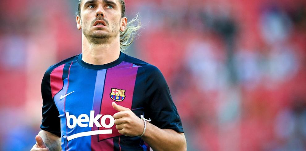 El delantero del Barcelona Antoine Griezmann