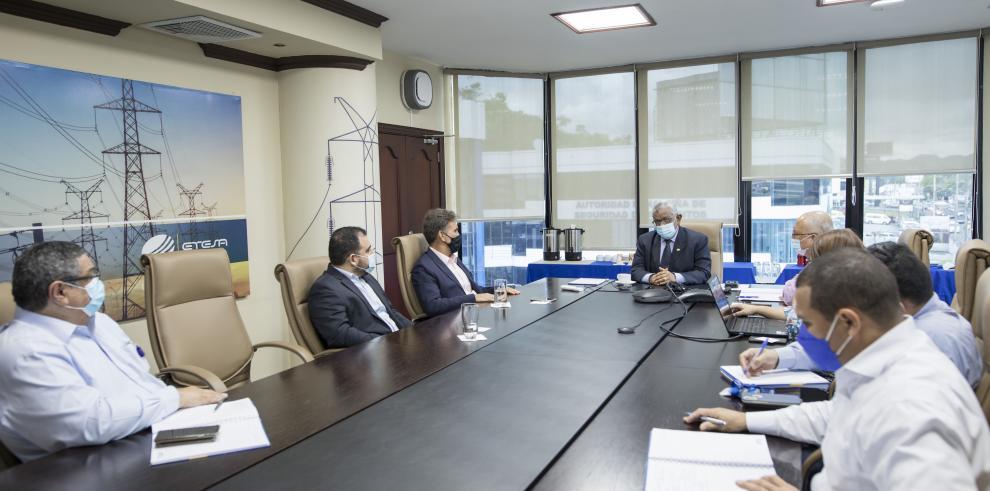 Carlos Mosquera Castillo, gerente general de la Empresa de Transmisión Eléctrica, ETESA