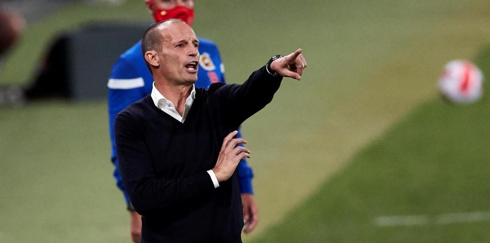 El entrenador de la Juventus Massimiliano Allegri.