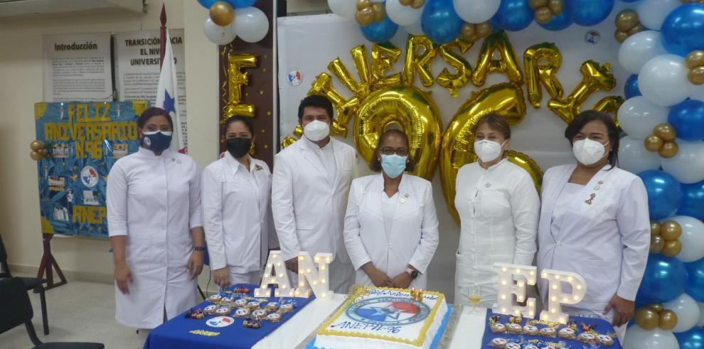 Asociación Nacional de Enfermeras de Panamá (ANEP) conmemora 96 años de fundación.