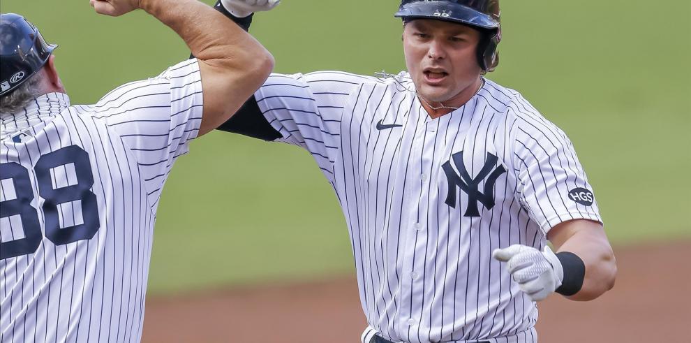 Los Yankees de Nueva York lideran al bateador Luke Voit