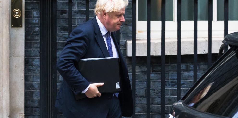 Boris Johnson convoca reunión sobre situación en Afganistán