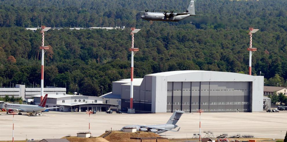 Base aérea de Ramstein, Alemania.