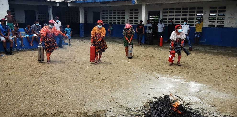 bomberos gunas