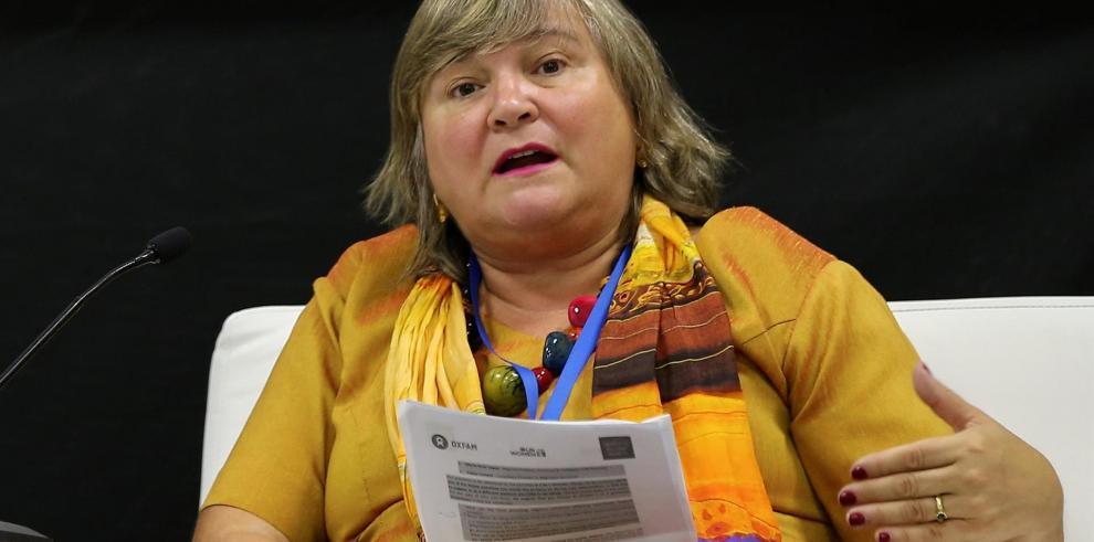 La directora de ONU Mujeres para América Latina y el Caribe, la uruguaya María-Noel Vaeza. EFE/José Jácome