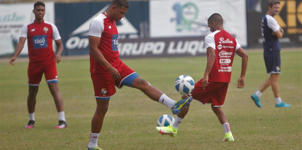 Entrenamiento de la selección de Panamá