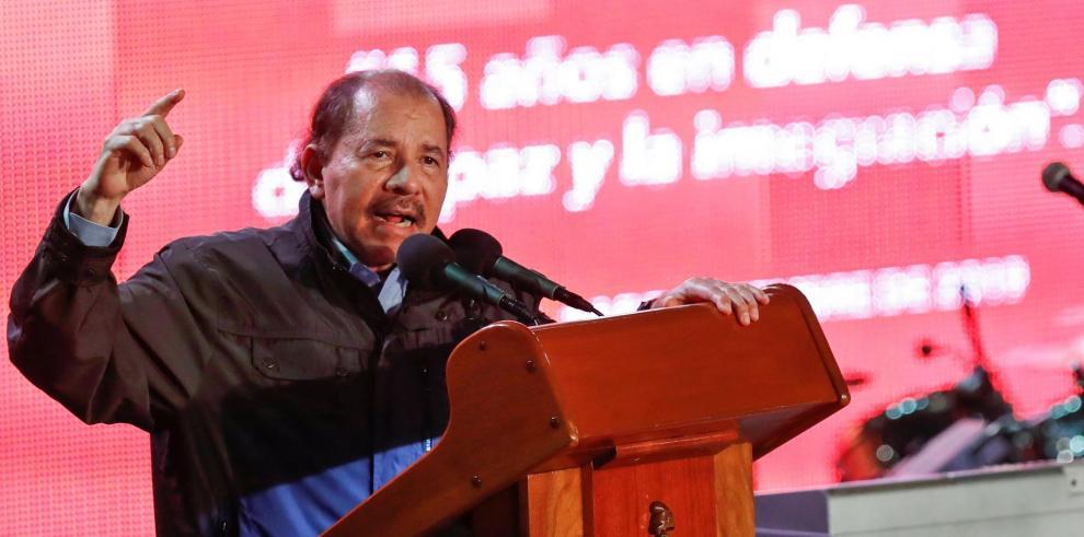 el presidente de Nicaragua, Daniel Ortega.  EFE / Yander Zamora