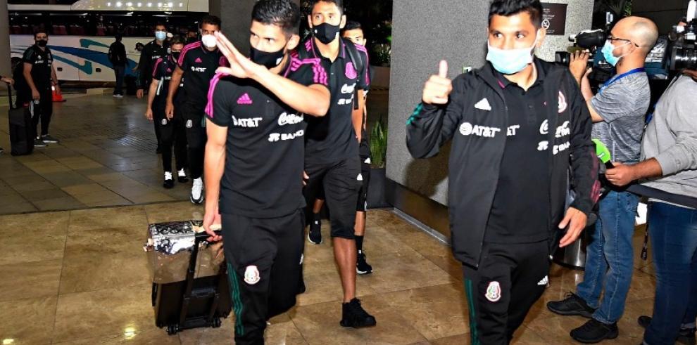 Llegada de la Selección de México a Panamá