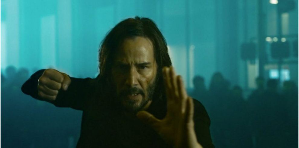 Keanu Reeves repite su personaje Neo