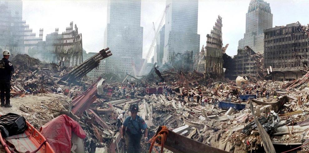 Descalzos y sin mirar atrás, huyeron del horror: son los recuerdos del 11-S