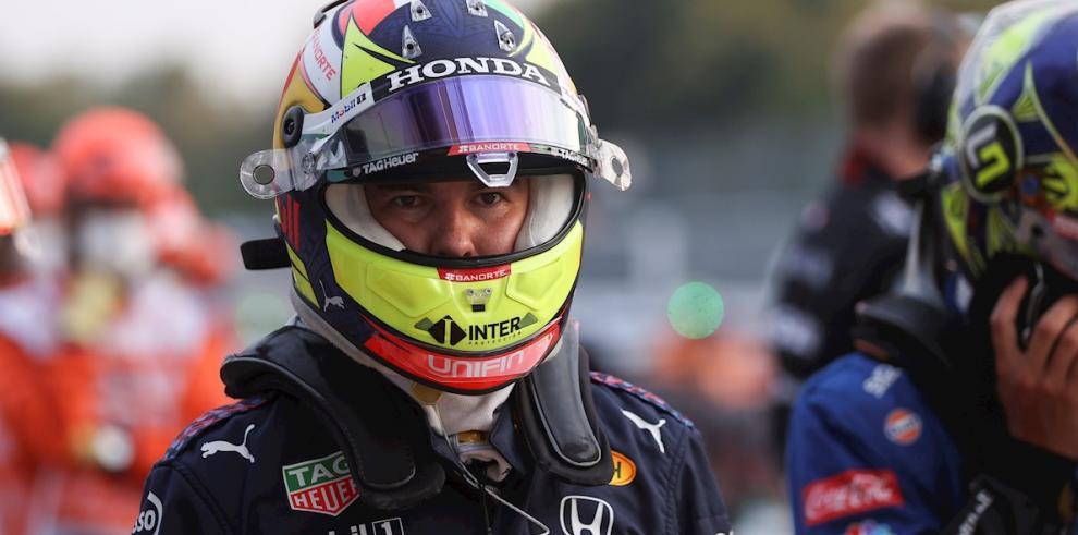 El mexicano Sergio Pérez (Red Bull) F1