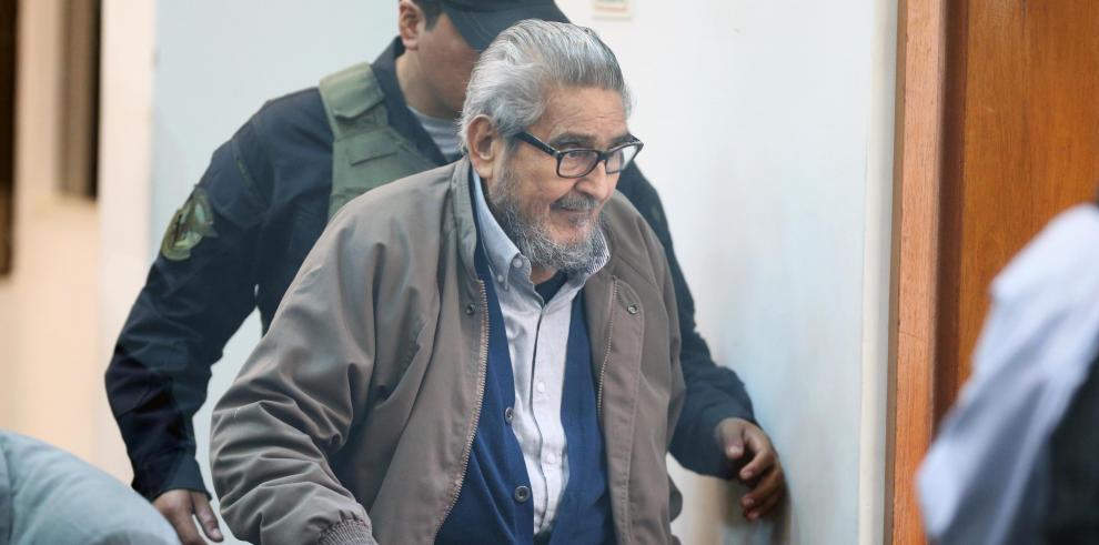 El fundador y líder de la banda terrorista Sendero Luminoso, Abimael Guzmán.