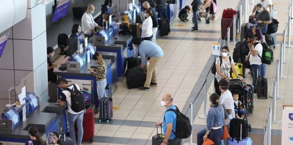 El Aeropuerto Internacional de Tocumen ha recuperado más de la mitad del tráfico aéreo que manejaba antes de la pandemia de la covid-19,
