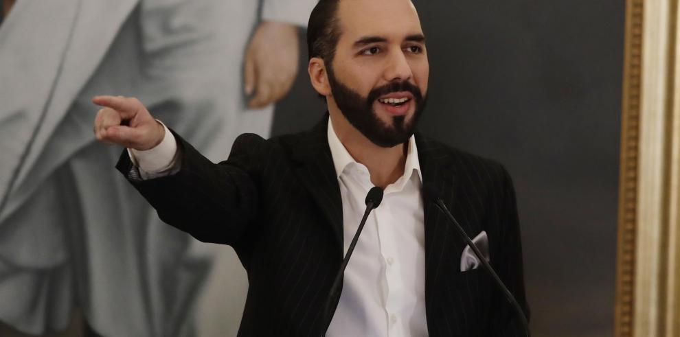 Presidente salvadoreño, Nayib Bukele.