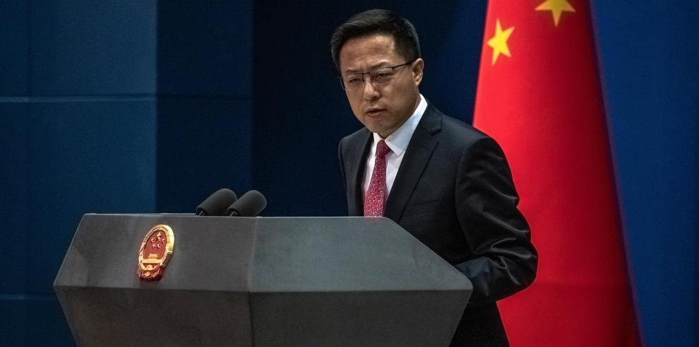 El portavoz del Ministerio de Exteriores Zhao Lijian