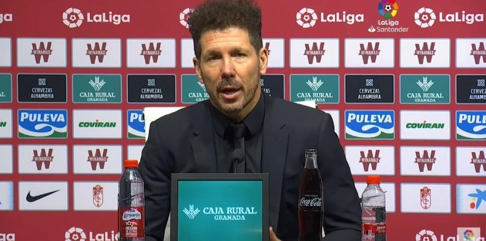 Diego Pablo Simeone, técnico del Atlético de Madrid