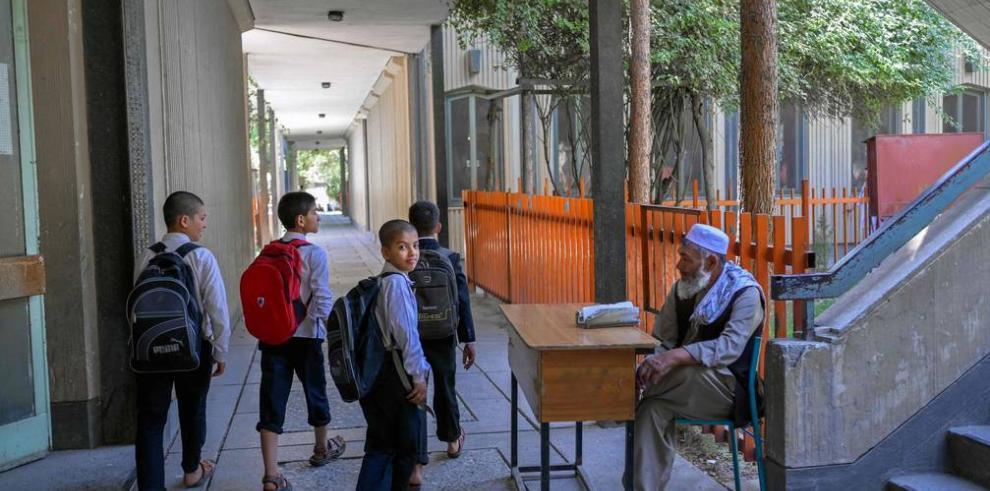 Escuelas en Afganistán