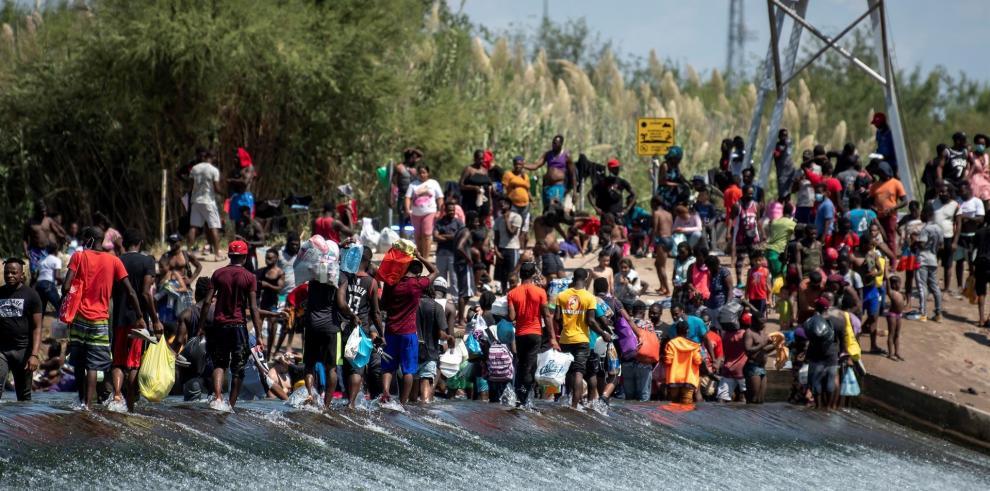 Haitianos deportados por EE.UU
