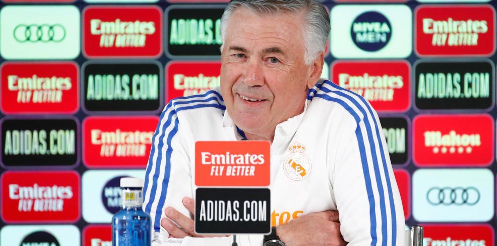 Rueda de prenda de Carlo Ancelotti