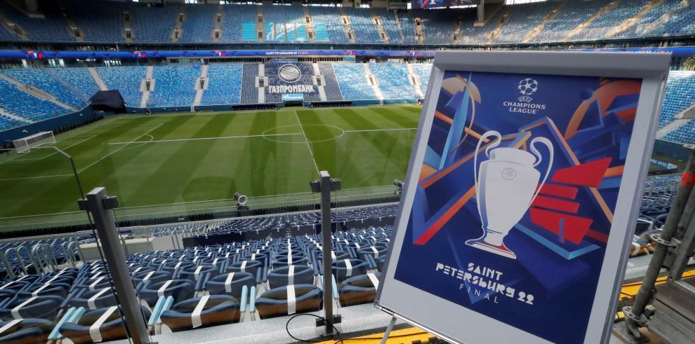 La UEFA presenta el logo de la final de la