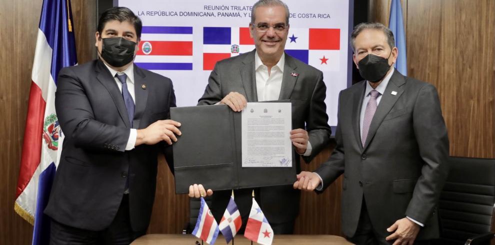 Costa Rica, R. Dominicana y Panamá