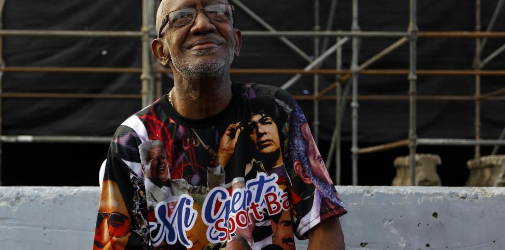 El músico Roberto Roena, en una fotografía de archivo.