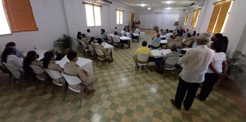 Instituto Nacional de Agricultura, INA rinden honor a fundadores