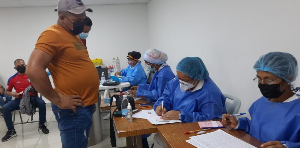 Barridos de vacunación con la anticovid en San Miguelito