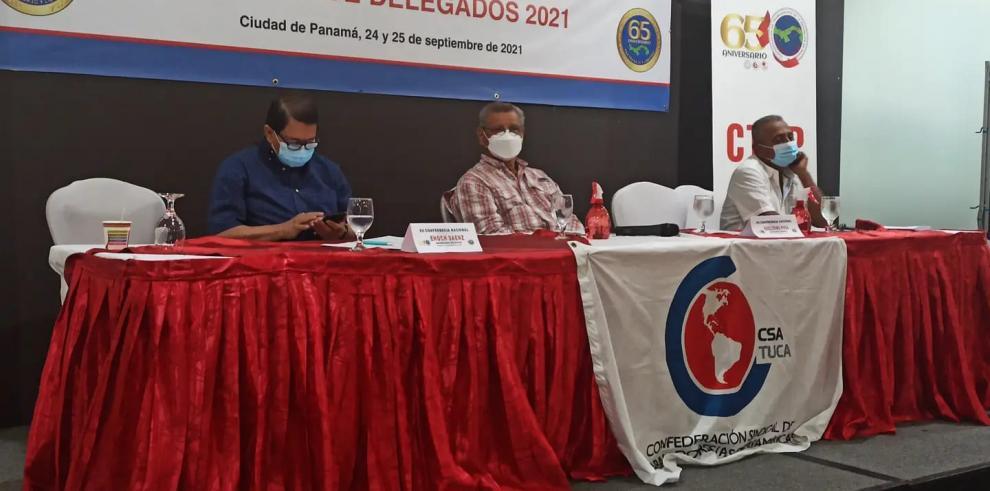 La Confederación de Trabajadores de la República de Panamá, CTRP acordó apoyar propuesta de CONATO sobre reforma a la Ley 51 de la CSS