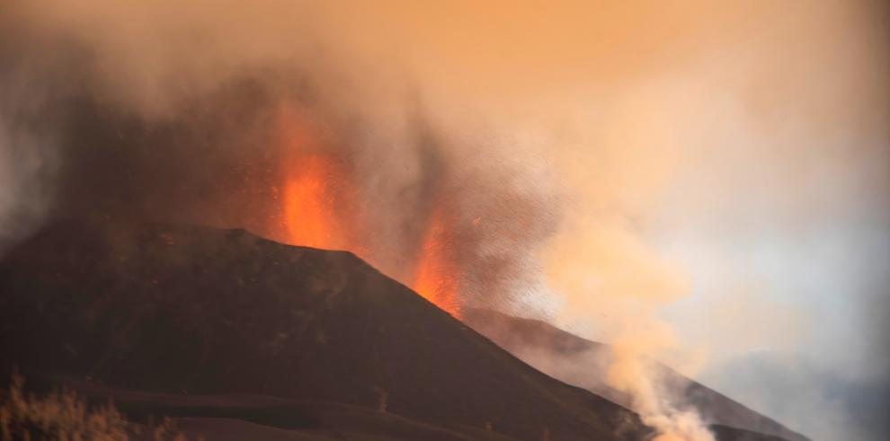 El volcán canario se estabiliza tras una semana en erupción