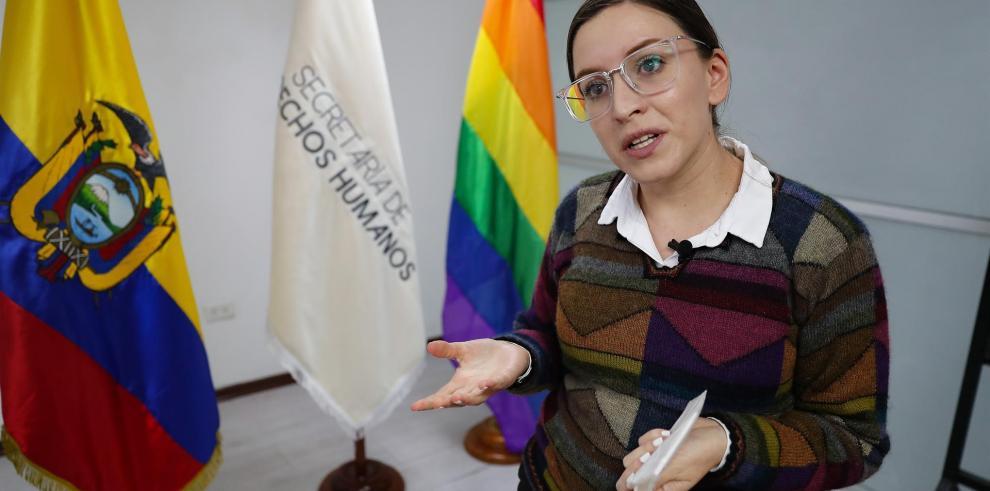 La secretaria de Derechos Humanos de Ecuador